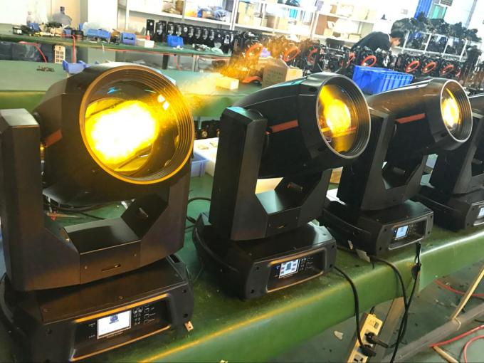 LED  Beam  Light 15r 330W Beam Moving head Double prism Double Gobo Wheels