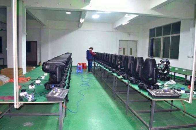 280W Moving Head Led Beam Lights 10R With Beam Spot Wash 3 In 1 Function
