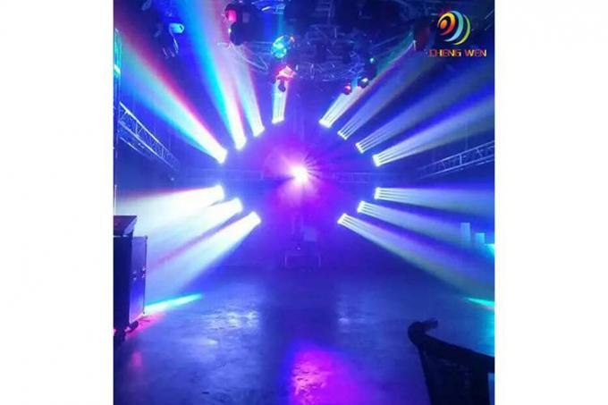 250w LED Beam Lights RGBW 4in1 Black Infinite Roller , Lamp Lumin 7950 Lm