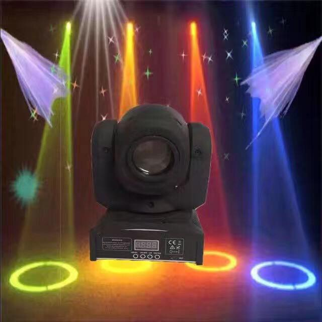 DMX 10W Sharpy Led Stage Light Mini Gobo Projector 13 Degree Beam Angle