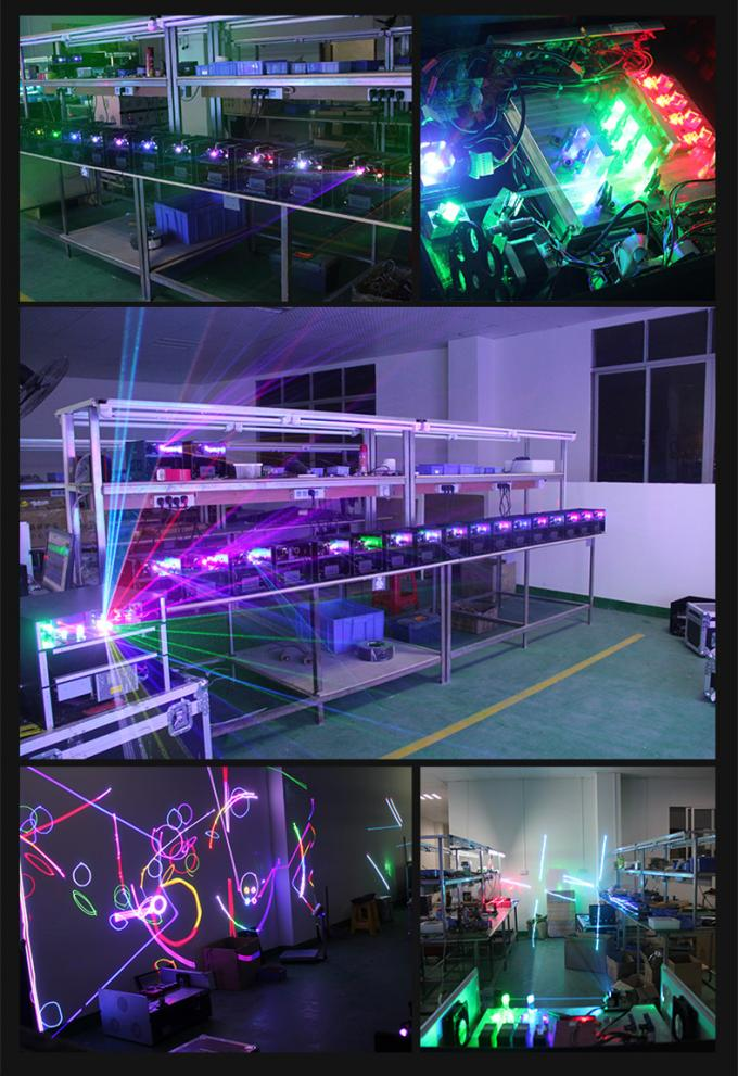 3W RGB Animation Mini Laser Projector Stage Lighting With Light Source Induction Lamps