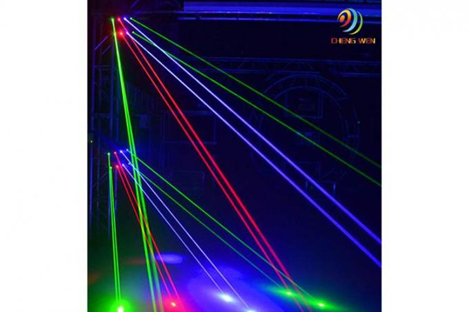 DJ Laser Stage Light Eight Heads Spider Laser Moving Head Lighting 44*27.5*29cm