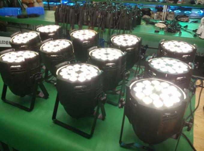 RGBW 5in1 18 X 10W Led Stage Par Light , Stage Lighting Led Par Can Lights