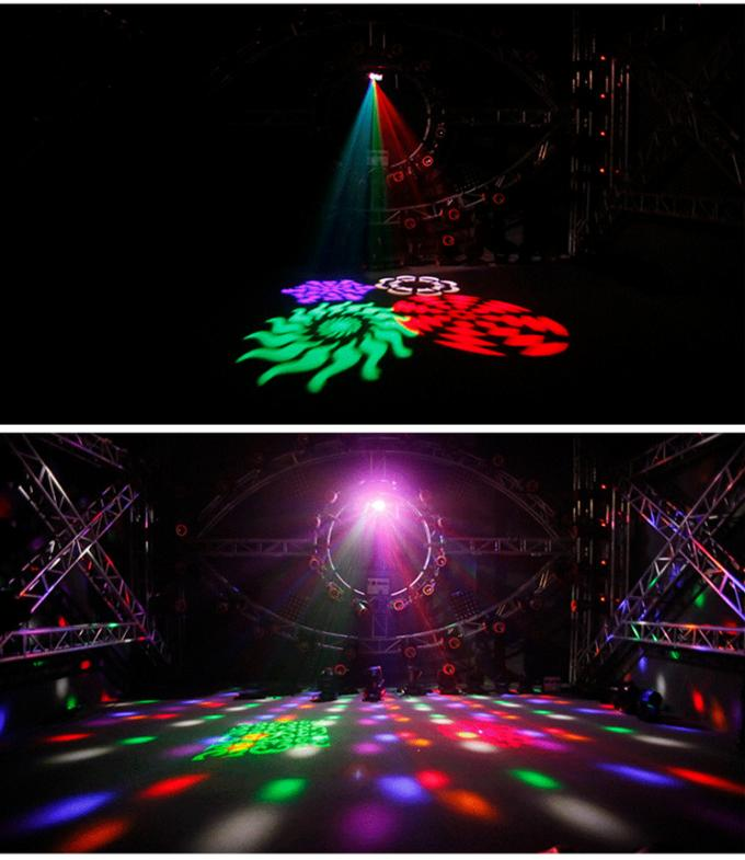 4in1 Laser Beam Gobos Strobe LED Effect Light Red And Green 40 Patterns
