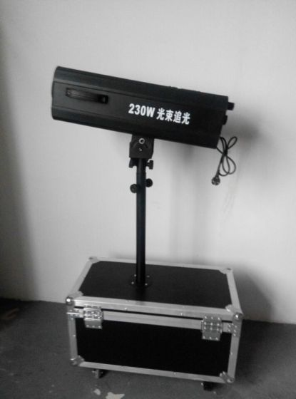 7R Led Follow Spot Light 230W Theater Stage Effect Lighting Stainless Steel Lamp Body