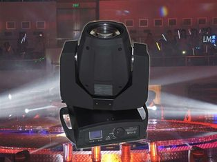 High Power IP20 LED Beam Lights , Dj Lights Moving Heads With Frost Effect