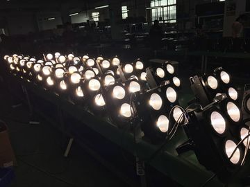 China DMX 400W COB Blinder Led Effect Light 2in1 4x100w Warm White And Cool White Color supplier