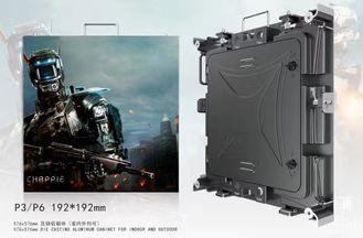 China Durable Indoor Fixed LED Display Optional Maintenance Way , 576*576mm Cabinet supplier
