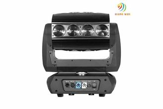 China 250w LED Beam Lights RGBW 4in1 Black Infinite Roller , Lamp Lumin 7950 Lm supplier