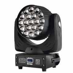 China 19X15W Led Zoom Moving Head Light RGBW 4in1 Constant Current Drive Mode supplier