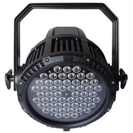 China IP65 Waterproof Dmx512 LED Stage Par Lights 8 Channels Control 54Pcs supplier