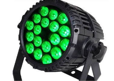 China 18*10W RGBW 4in1 LED Stage Par Lights LED Rainbow Effect With Flicker Free supplier
