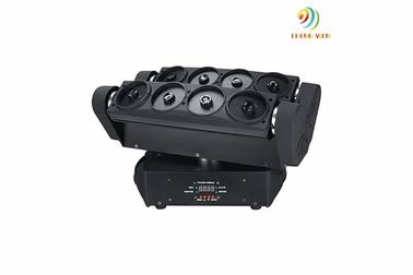 China DJ Laser Stage Light Eight Heads Spider Laser Moving Head Lighting 44*27.5*29cm supplier