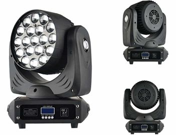 China 19x12w B - Eye Led Zoom Moving Head Stage Light Powerful LED Moving Beam supplier