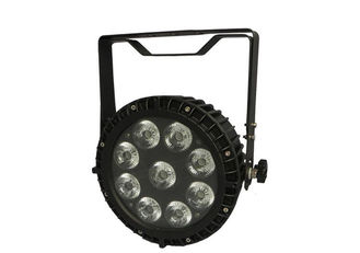 China IP65 120W LED Stage Par Lights 6in1 With 42mm Big Lens , 6/10 DMX Channels supplier