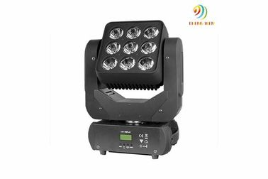 China Rgbw 4in1 LED Moving Head Light , Led Matrix Moving Head Beam Light AC100-240V supplier