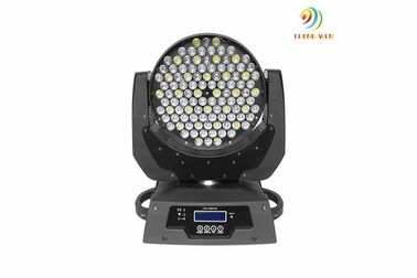 China Bright LED Beam Moving Head Light , 108pc 3w Moving Wash Lights With 11 DMX Channels supplier