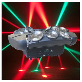 China 4 In1 9 Eye Spider Led Moving Head Light RGBW , 140 W Dmx Moving Head Lights supplier