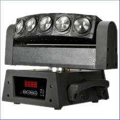 China Quad Color Scan LED Moving Head Light 360 Degree 5 Eyes 10W 4in1 Lighting supplier