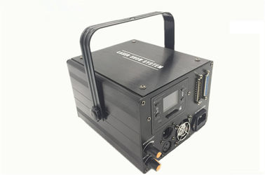China High Speed Beam Laser Light , 1w Rgb Animation Laser Light With Wide Scan Angle supplier