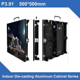 China Full Color Indoor LED Panel Rental Display P3.91 500*500/1000mm , Novastar Control supplier