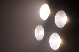 China DMX 4*100W Eyes Led Par Can Stage Lights Warm / Cold Audience Blinder , 50000H Lifespan supplier