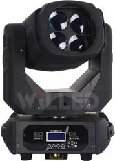 China 4pcs 25w Entertaining Light RGBW 4IN1 LED Super Rotating Shapy Moving Head supplier
