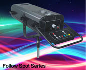 China Professional Follow Spot Beam Light , 1200w Wedding Stage Lighting With Support And Flight Case factory