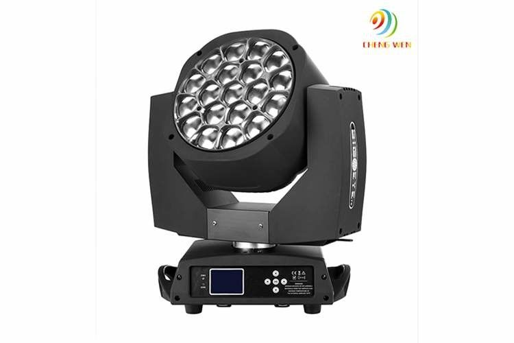 Bright ip22 led moving head light 19pc 15w 5000 lifetime for night clubs aloadofball Images