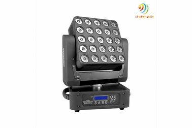 saving energy 25PCS 10W RGBW 4 in1 leds dj booth Beam Moving Matrix Limitless Head lamp