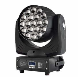 19X15W Led Zoom Moving Head Light RGBW 4in1 Constant Current Drive Mode