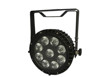 IP65 120W LED Stage Par Lights 6in1 With 42mm Big Lens , 6/10 DMX Channels