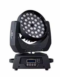 36pc 10w RGBW LED Moving Head Light With DMX Channels , LED Dimming