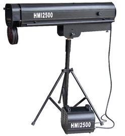 HMI 2500W Remote Control Follow Spot Light For Wedding Concert Stage Theater