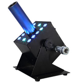 12pcsx 3W RGB 3IN1 LED Fog Machine CO2 Stage Special Effect Multi Angle DMX512 Jet Cannon