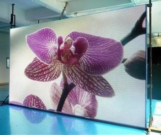 China P4.81 Outdoor Advertising Led Display Screen MBI5124 1920Hz 500mm*1000mm factory